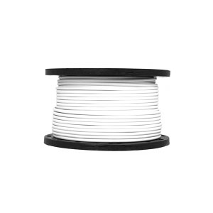 FIRE CABLE 2CORE   EARTH 4mm WHI