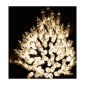 100 LED FAIRY LIGHTS WARM WHITE