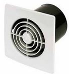 SLIM LINE 100mm FAN C/W TIMER