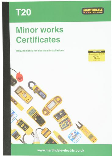 ELECT. INSTALL MINOR WORKS SHEET