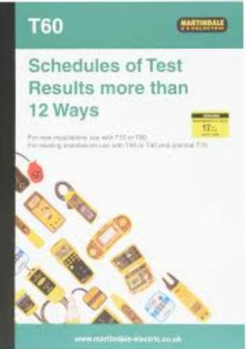 SCHEDULE OF TEST RESULTS  MORE 12WAY