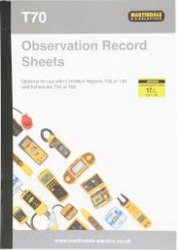 OBSERVATION RECORD SHEET