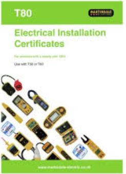 ELECT. INSTAL. CERT FOR LARGER THAN 100A