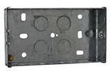 25mm DEEP FLUSH DUAL BOX-5138