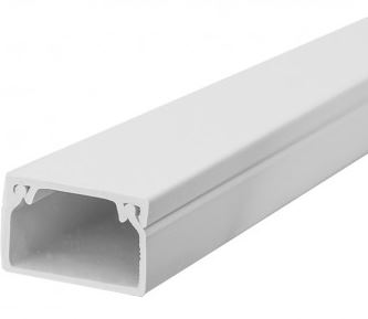 50X25mm MINI TRUNKING 3MTR PVC
