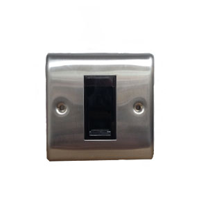 TELEPHONE MASTER  BRUSHED STEEL