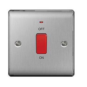 COOKER SWITCH 45A DP- SMALL