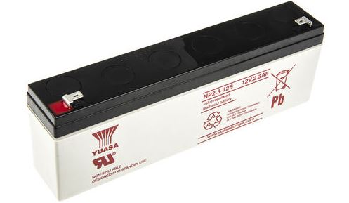 BATTERY 12V 2.1AH SEALED LEAD ACID