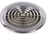 100MM CHROME ROUND CEILING GRILL
