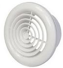 100MM WHITE ROUND CEILING GRILL