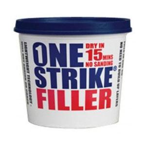 ONE STRIKE FILLER - 2.5LTR TUB