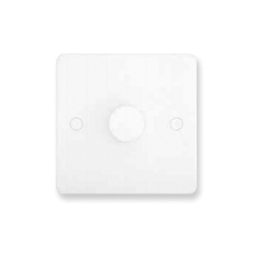 DIMMER 1GANG 2WAY 400W SLIM WHITE