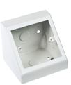 PEDESTAL BOX SINGLE WHITE