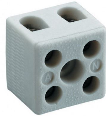 15A 2WAY CONNECTOR BLOCK