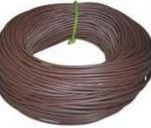 8mm DIAMETER SLEEVING BROWN