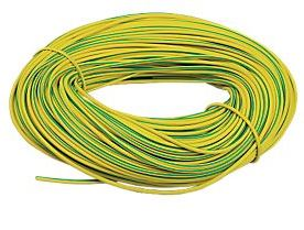 8mm DIAMETER SLEEVING GREEN YELLOW