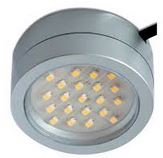 2WATT LED UNDER CUPBOARD LIGHT SILVER