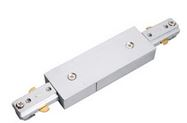 TRACK STRAIGHT CONNECTOR / COUPLER WHITE