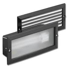 BRICKLIGHT 1X40W BLACK