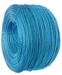 6MM BLUE DRAW ROPE NYLON