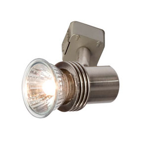 TRACK SPOT LIGHT PETITE SATIN NICKEL