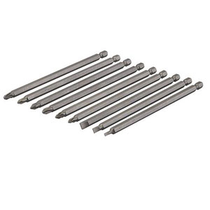EXTRA LONG 150mm BIT SET 9PCE