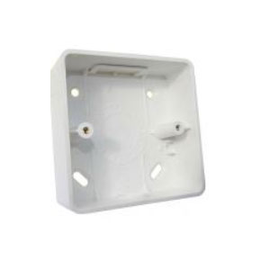 1GANG 32mm PVC SURFACE BOX RADIUS CNR
