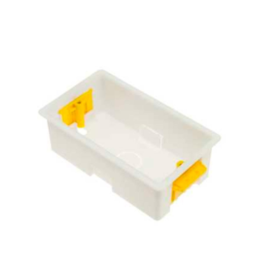 DRY LINER BOX PVC 2GANG 45mm DEEP