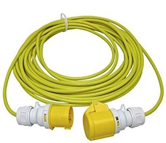 14M 110V 1.5mm YELLOW LEAD