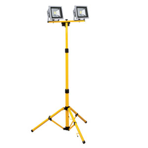 TRIPOD LIGHT TWIN 40W (2X20W LED FLOOD)