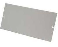 2GANG TWIN BLANK PLATE (TFB3/4) 4C