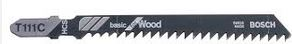 JIGSAW BLADES WOOD/PVC PK5 FOR BOSCH/DEWALT