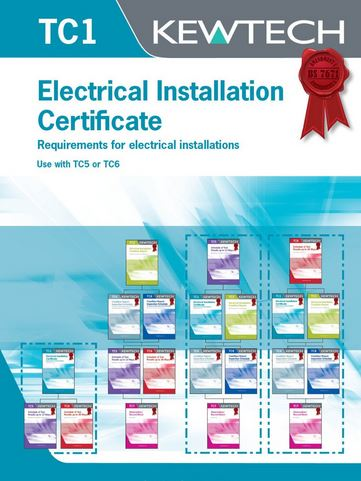 ELECTRICAL INSTALLATION CERTIFICATES
