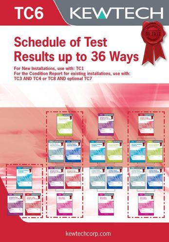 INSPECT/TEST 1-36 WAYS