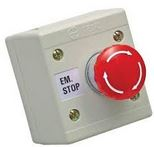 EMERGENCY STOP BUTTON TWIST RELEASE