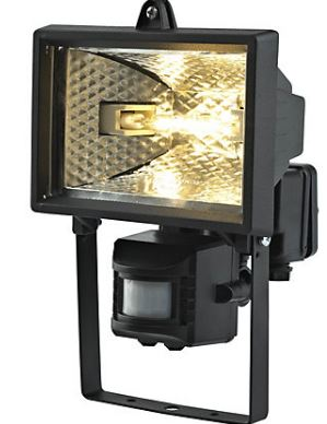 FL150 PIR BLK PIR FLOOD LIGHT