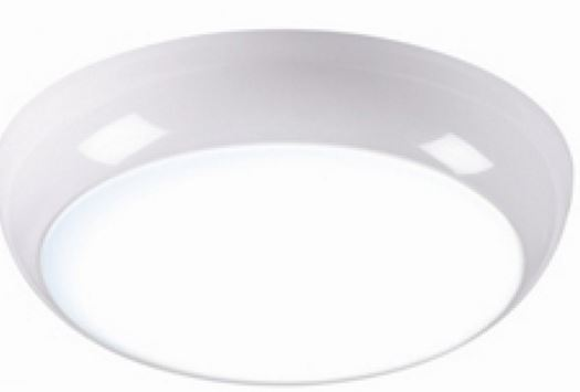 14W LED FITTING C/W SENSOR