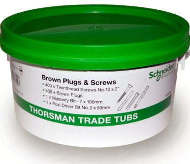 500SCREWS   BROWN PLUGS