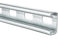 SLOTTED STRUT  PRE GALV 2.5mm GAUGE