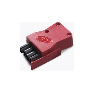 4POLE PLUG EMERGENCY RED