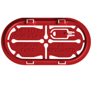 INSULATED CABLE ENTRY PLATE (PACK OF 5)
