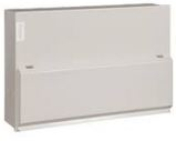 CONSUMER UNIT 10WAY METAL C/W 100A SWITCH MET