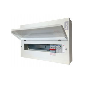 CONSUMER UNIT 12WAY C/W SPD