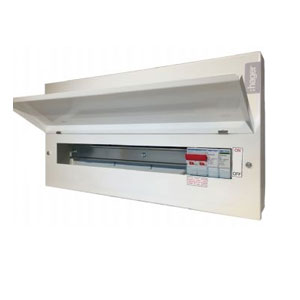 18WAY CONSUMER UNIT C/W SPD