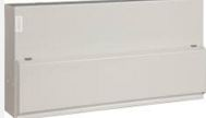 CONSUMER UNIT 20WAY METAL C/W 100A SWITCH