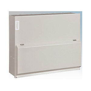 CONSUMER UNIT 10WAY METAL HI-INTEGRITY