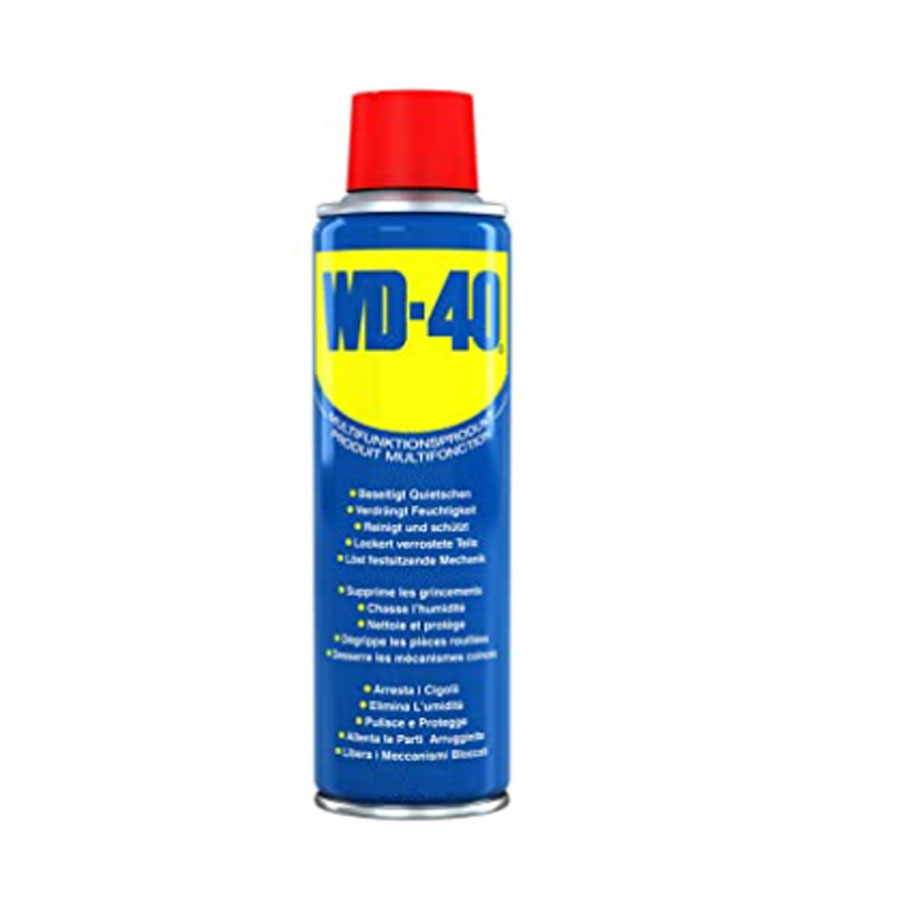 WD40 LUBE 400ml CAN WITH SMART STRAW