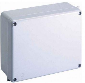 165X145X84 PVC BOX LIGHT GREY