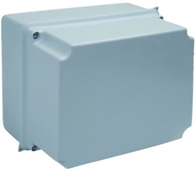PLASTIC BOX 220x170x80mm PLAIN SIDED