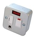 METAL CLAD SWITCH SPUR FLEX OUTLET WITH